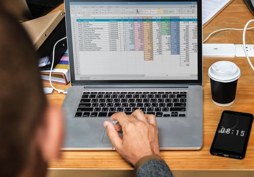 Spreadsheets and Database admin